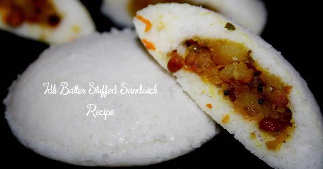 Idli Batter Sandwich | Idli Batter Stuffed Sandwich Recipe