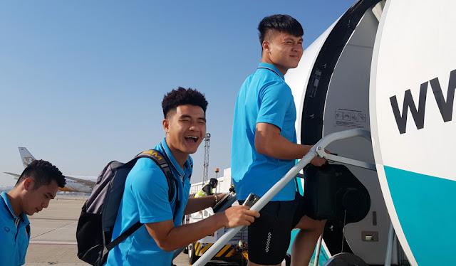 U23 Việt Nam đã có mặt ở Buriram, chuẩn bị đấu UAE 1