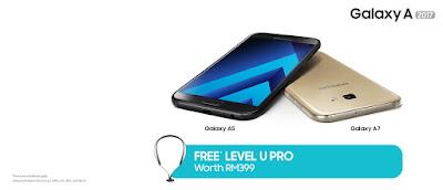 Samsung Galaxy A& A5 Malaysia Price Pre-order Free Level U Pro