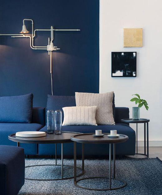 Warna Cat Rumah Modern biru