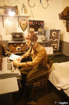 Una delle ambientazioni nel Bunker de l'Abri di Hatten