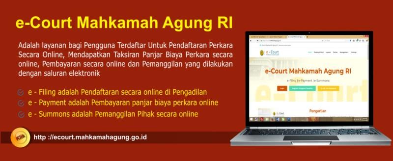 MA Terbitkan Peraturan Administrasi Perkara dan Persidangan Online