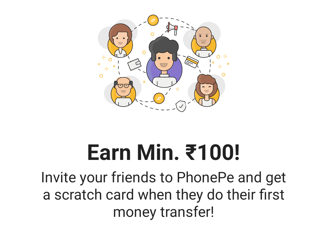 Phonepe Refer And Earn Offer Upto 9000 Rs