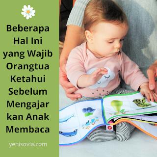 beberapa hal ini wajib orangtua ketahui sebelum mengajarkan anak membaca