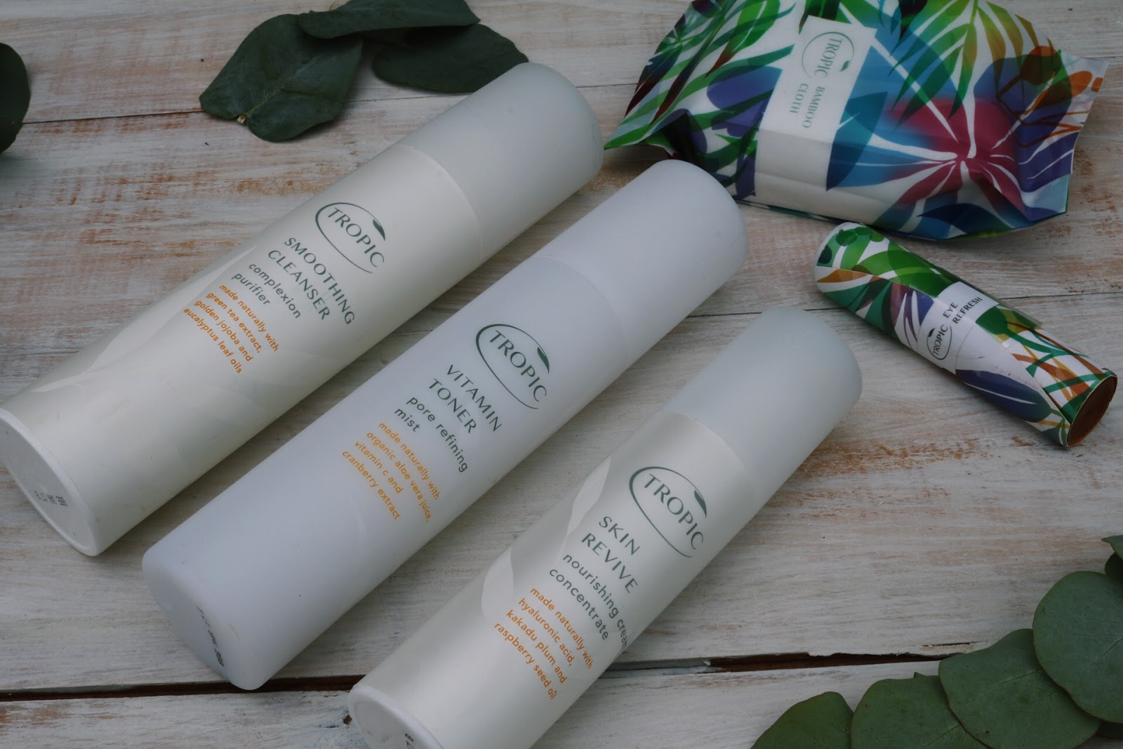 tropic - ABC collection face routine