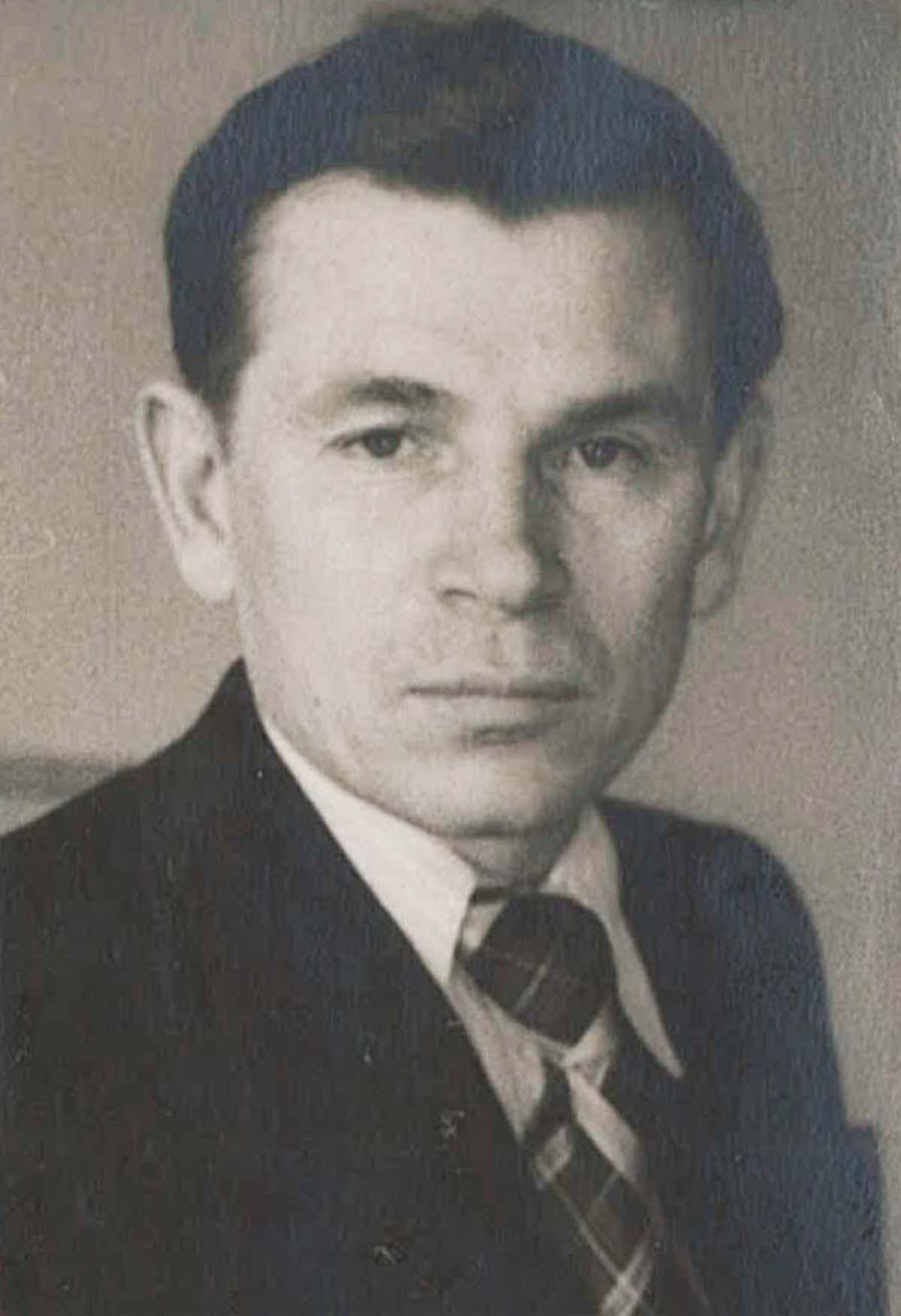 Evgeny Stepanovich Kobytev in 1960s.
