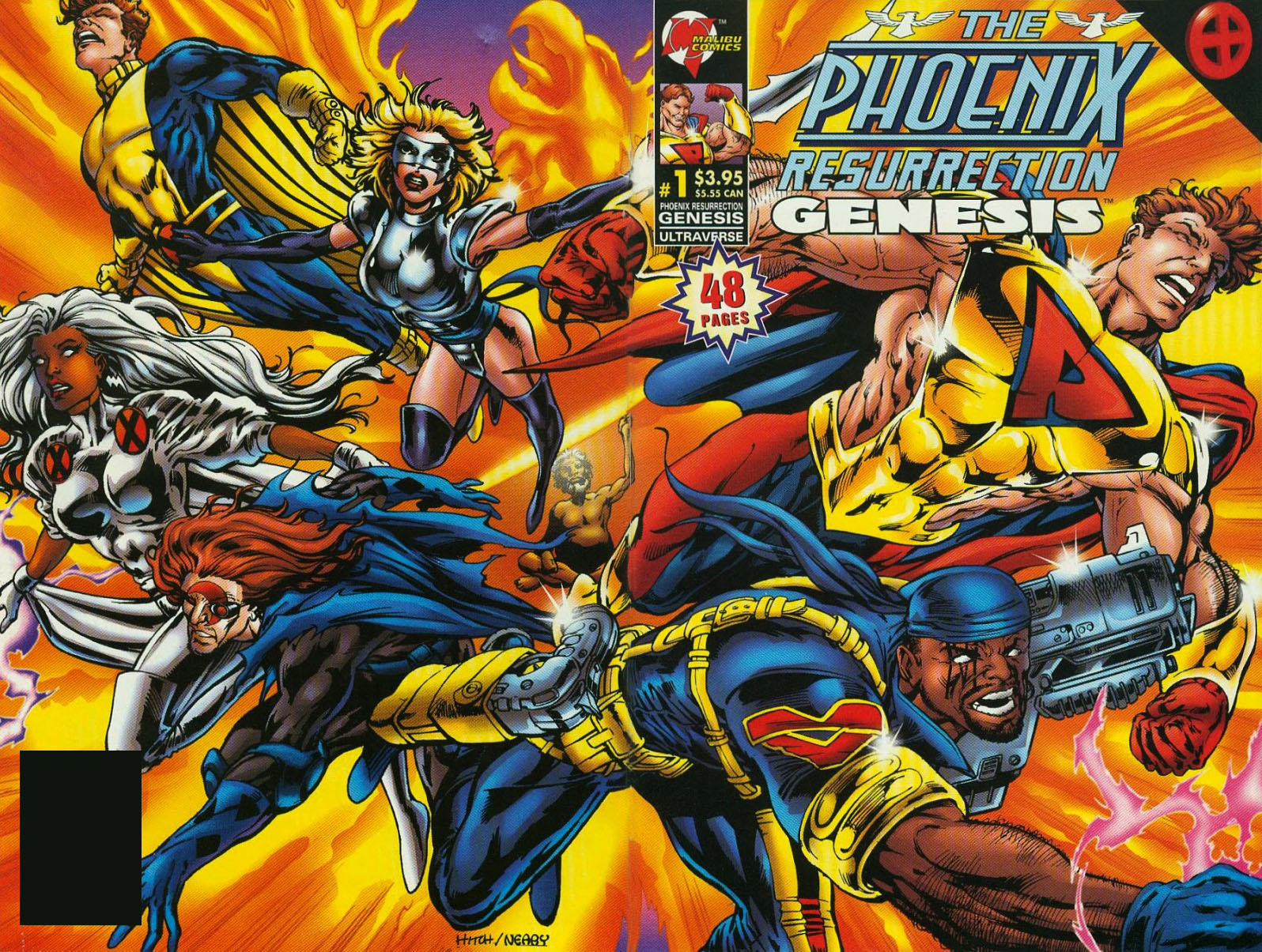 Ultraverse Marvel crossover