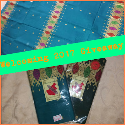 Welcoming January GiveAway