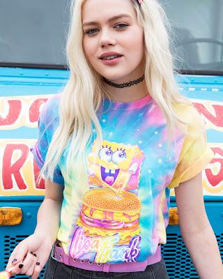 NickALive Hot Topic Launches Lisa Frank x SpongeBob