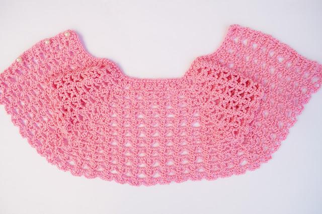 1 - Crochet Imagen Canesú a crochet para vestidos de verano por Majovel crochet