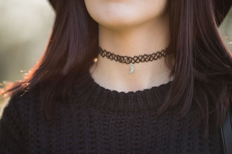 choker Zaful blog