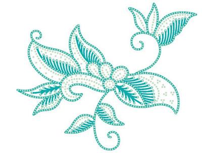anseries design batik kontur
