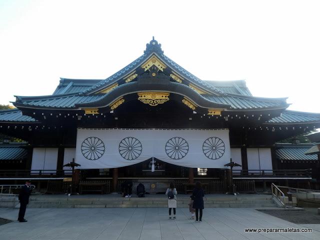 Santuario Yasukuni en Tokio