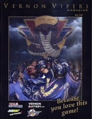 Vernon Vipers 2008-09 Program (Second Edition)