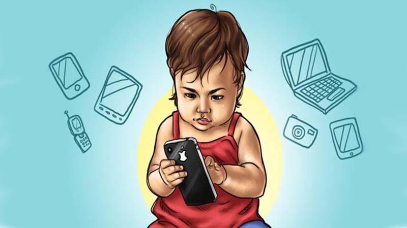 Gadget Hambat Perekembangan Kemampuan Bahasa dan Kognitif Anak