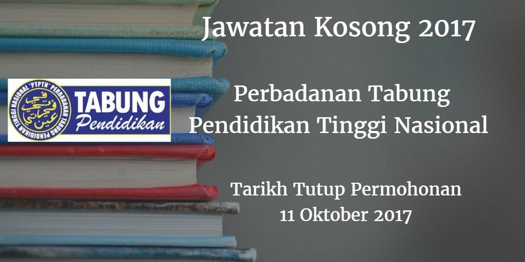 Jawatan Kosong PTPTN 11 Oktober 2017