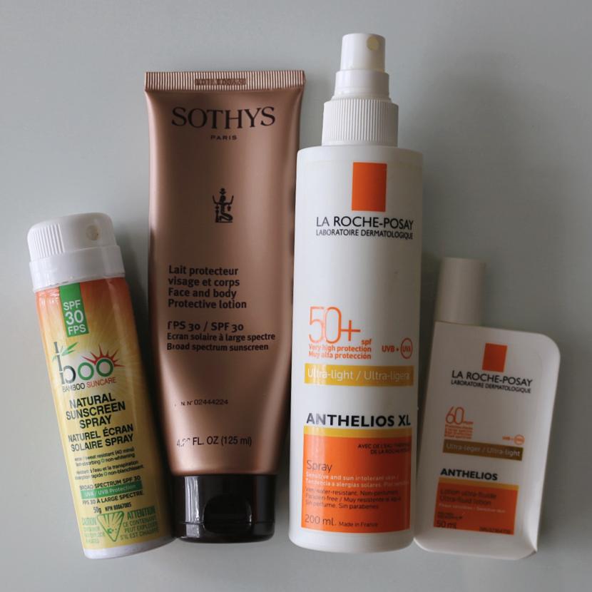 Sunscreen Empties