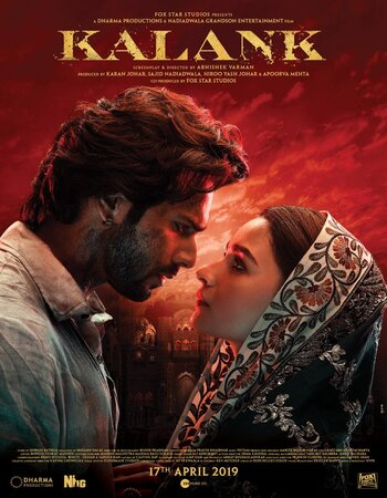 Kalank (2019) Hindi 720p HDRip x264 1.3GB ESubs Movie Download