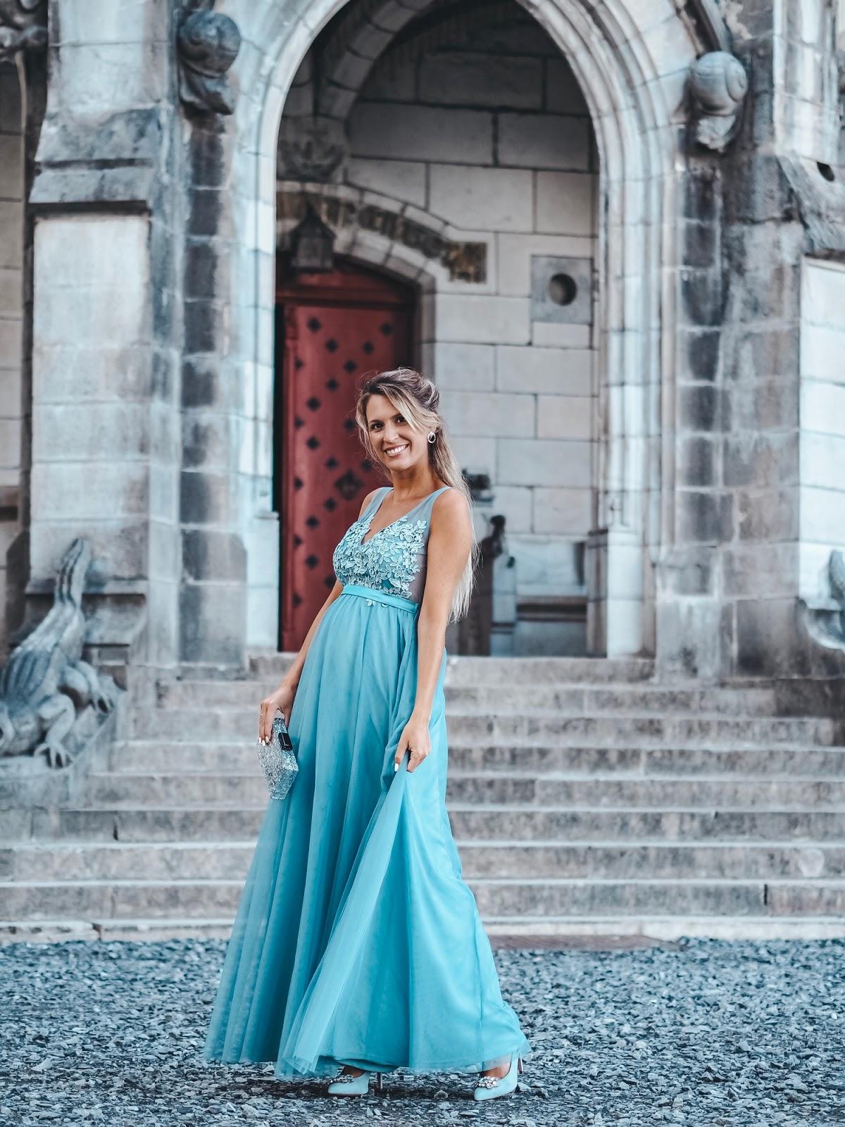 invitada boda embarazada 2019