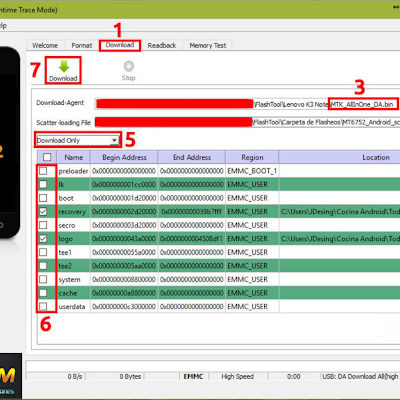 Revivir y/o Actualizar LANIX ILIUM X210 (Rom / Sp Flash Tool
