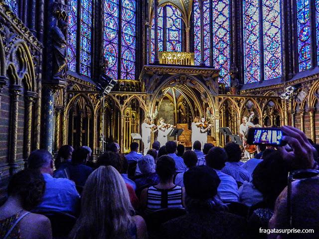 Concerto na Sainte Chapelle, Paris