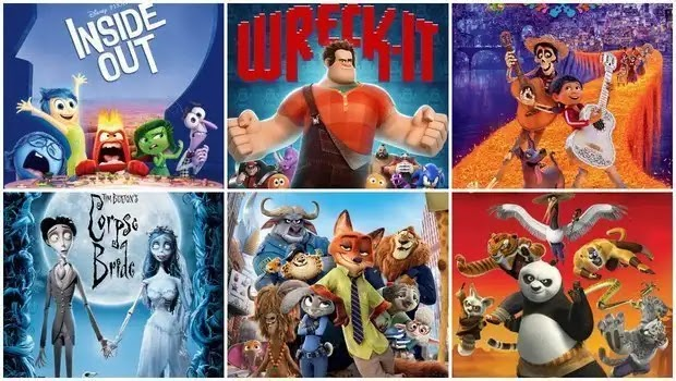 index of Animation movies