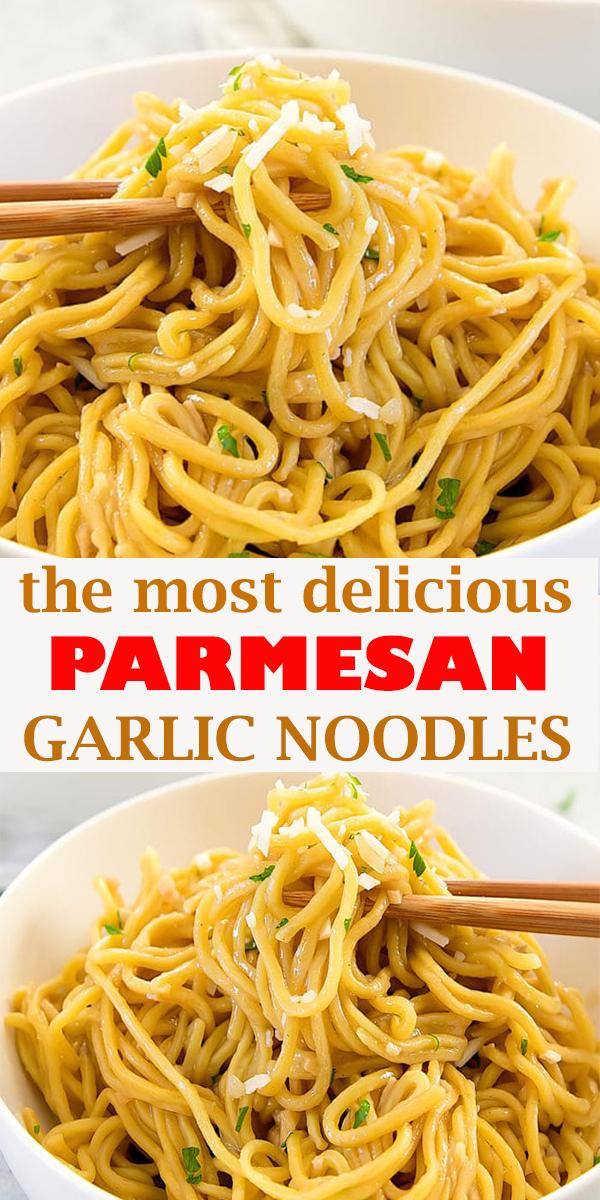 PARMESAN GARLIC NOODLES #PARMESAN #GARLIC #NOODLES #PARMESANGARLICNOODLES