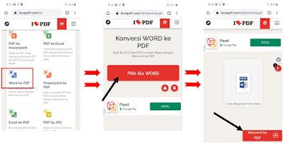 Cara Mengubah Word ke PDF di HP