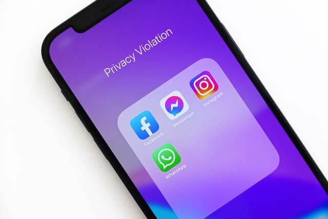 Queda das redes sociais