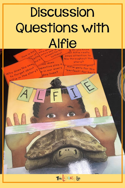 Different perspectives make stories more interesting and help readers see the entire story. Alfie: (The Turtle That Disappeared) is the perfect mentor text for seeing both sides of the story.