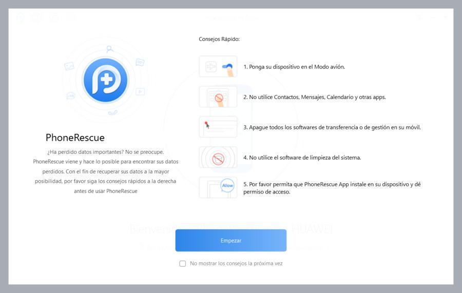 PhonRescue-indicaciones