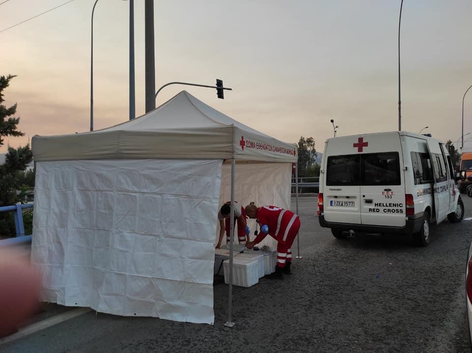 Συγκεντρώνουν χρήματα και τρόφιμα για τους πυρόπληκτους στην Ελλάδα