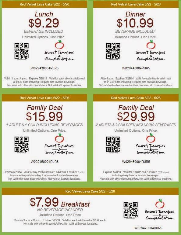 photo regarding Souplantation Printable Coupons named Coupon Further Souplantation Lovable Tomatoes Discount coupons Printable