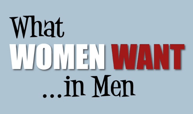 What Women Want...in Men