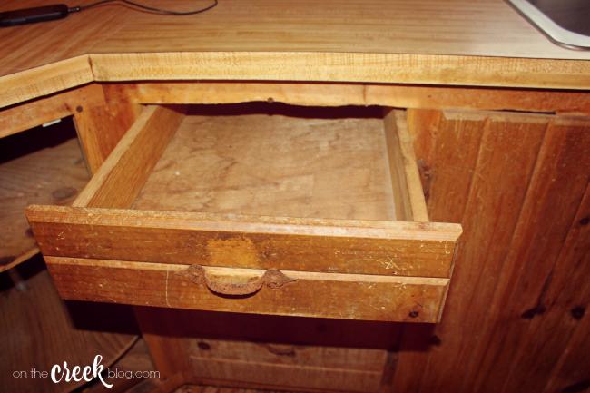 Cabin kitchen renovation   Before Photos