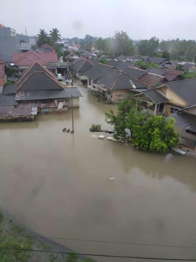 Kota Pangkal Pinang Terendam Air