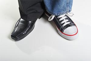 Sepatu orang Lain