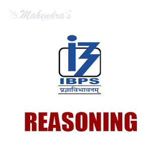 IBPS Clerk Quiz : Reasoning Ability | 15 - 11- 17