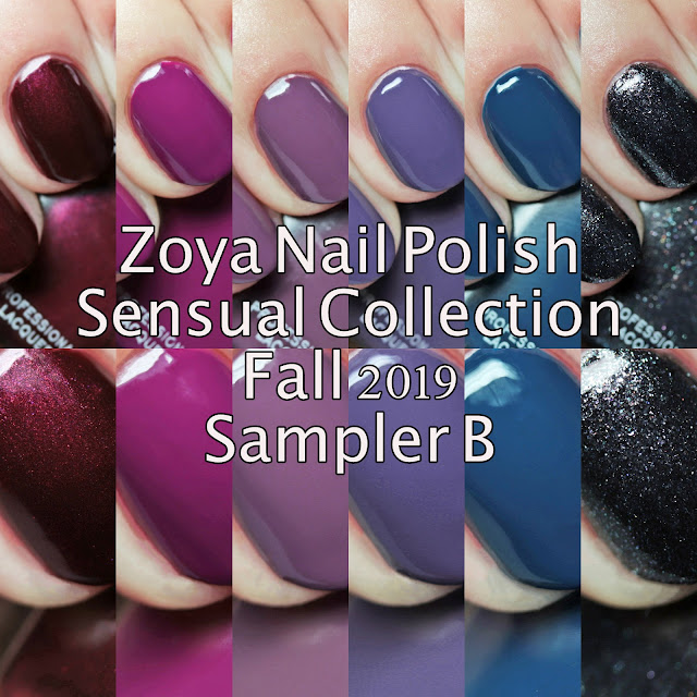 Zoya Nail Polish Sensual Collection Fall 2019 Sampler B