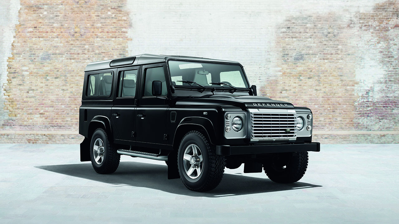 Land Rover Silver and Black Pack