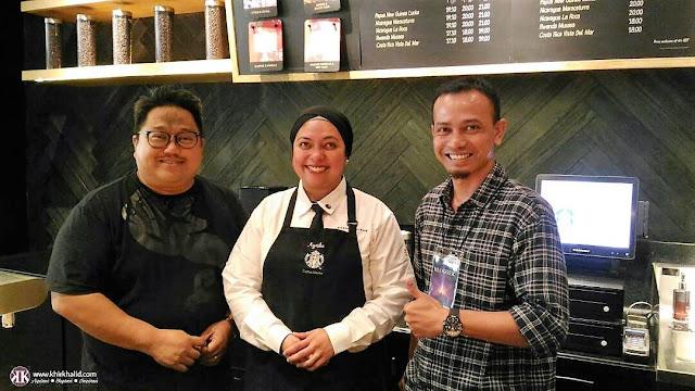 Salleh Haron, Ayesha, Coffee Master Starbucks Coffee, Genting Highlands,