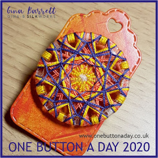 One Button a Day 2020 by Gina Barrett - Day 1 : Diadem Cluster