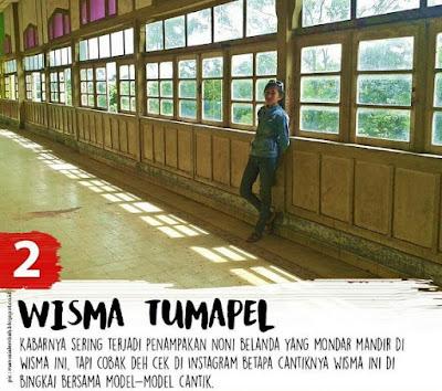Foto bergaya vintage di Wisma Tumapel Malang