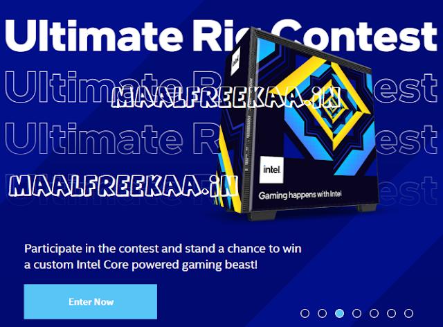 Intel Ultimate Rig Gaming Giveaway