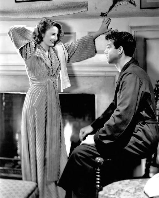 1940. Barbara Stanwyck, Fred MacMurray - Remember the night
