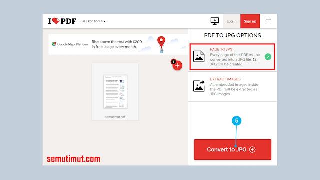 cara mengubah pdf ke jpg di android