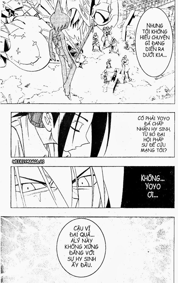 Shaman King [Vua pháp thuật] chap 179 trang 21