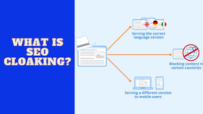 what is SEO cloaking
