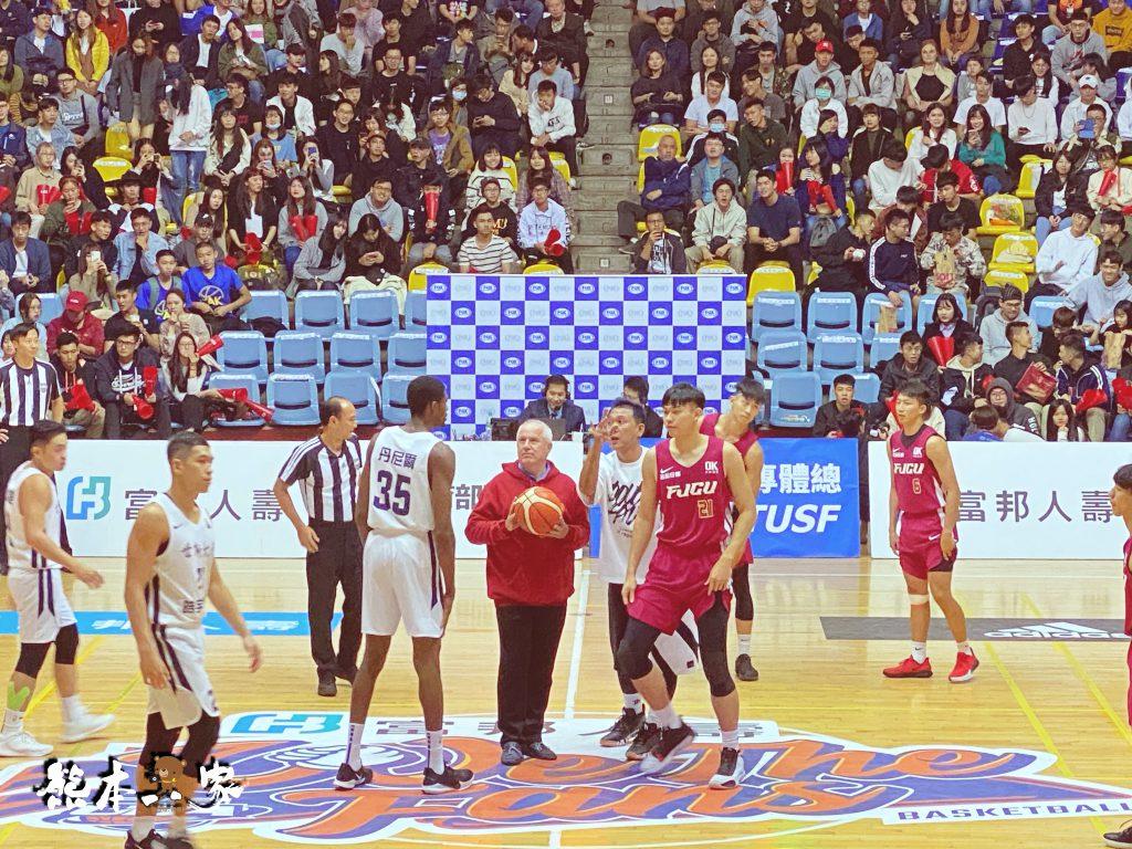 UBA大專籃球聯賽|輔仁大學中美堂~來看輔大競技啦啦隊表演和地主隊比賽