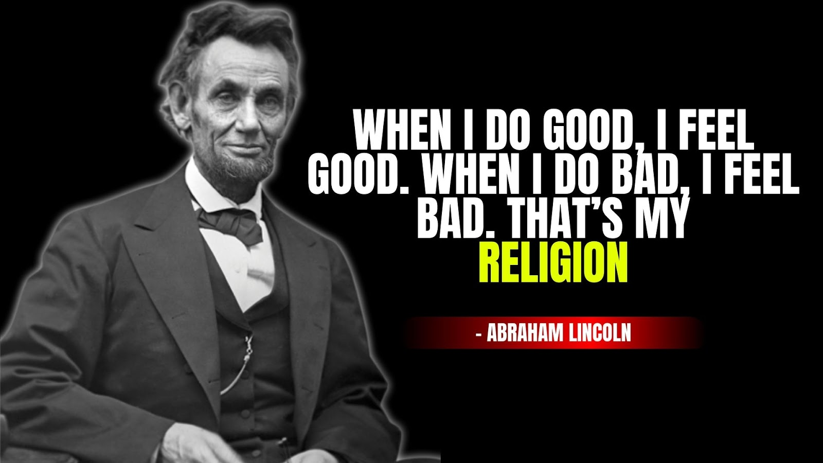 Inspirational Quotes, Abraham Lincoln Quotes